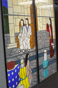 Axe Memorial UMC stained glass